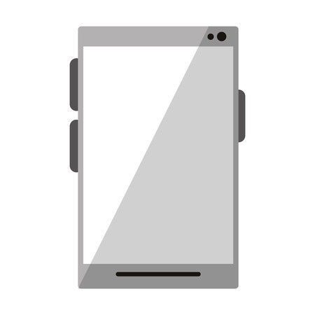 cellphone icon cartoon isolated vector illustration graphic design