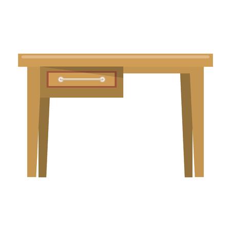 furniture concept desk cartoon vector illustration graphic design Stok Fotoğraf - 122792256