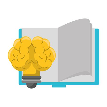 knowledge education idea concept elements cartoon vector illustration graphic design Stock Illustratie