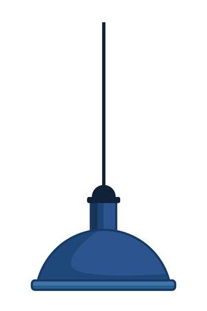 Lampe suspendue icône cartoon vector illustration graphic design