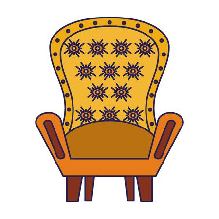 furniture concept couch scene cartoon vector illustration graphic design Stok Fotoğraf - 123048309