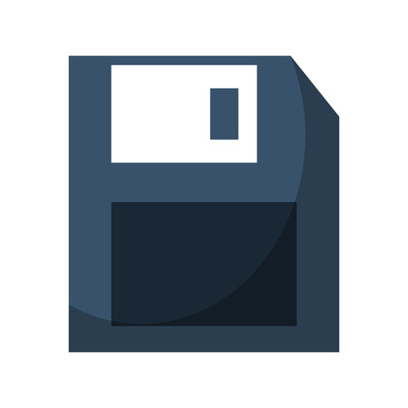 floppy disk icon cartoon vector illustration graphic design