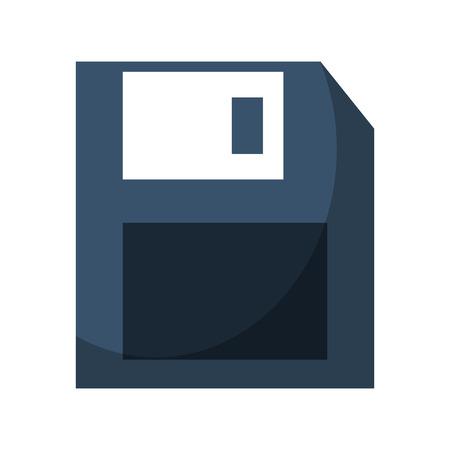 floppy disk icon cartoon vector illustration graphic design