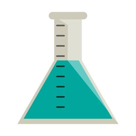chesmitry flask symbol isolated vector illustration graphic design