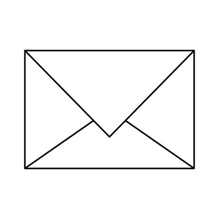 Envelope email symbol isolated vector illustration graphic design Illustration