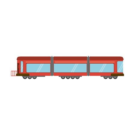 Train vehicle isolated symbol vector illustration graphic design Illustration