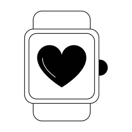 smartwatch fitness tech vector illustration design vector illustration graphic design