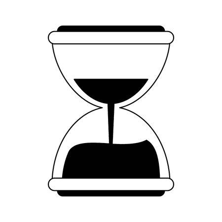 Hourglass antique time symbol vector illustration graphic design Stock Vector - 124701901