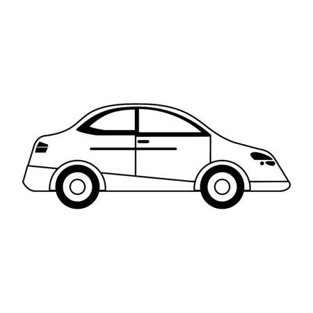 Car vehicle isolated vector illustration graphic design Çizim
