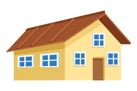 house icon cartoon isolated vector illustration graphic design