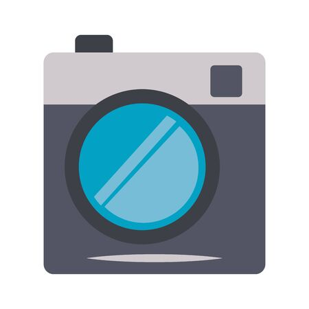 Vintage instant camera symbol isolated vector illustration graphic design