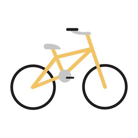 Bike sport vehicle isolated vector illustration graphic design