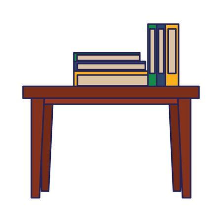 furniture concept table cartoon vector illustration graphic design