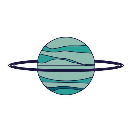 Saturn planet galaxy cartoon isolated vector illustration graphic design vector illustration graphic design 일러스트