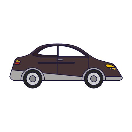 Car sedan vehicle isolated vector illustration graphic design vector illustration graphic design Standard-Bild - 124895279