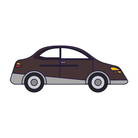 Car sedan vehicle isolated vector illustration graphic design vector illustration graphic design