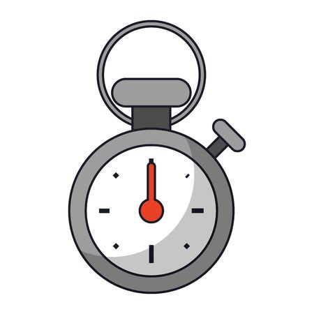 Sport stopwatch timer symbol vector illustration graphic design
