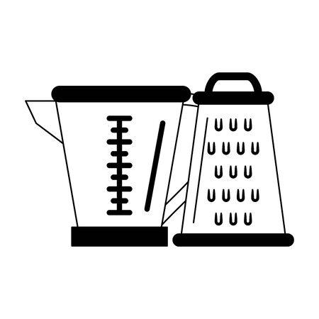 Kitchen utensils and supplies cartoons vector illustration graphic design Иллюстрация