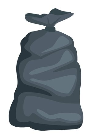 garbage bag icon cartoon isolated vector illustration graphic design Illustration