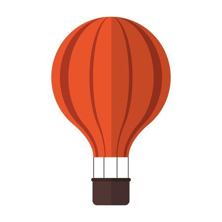 Hot air balloon symbol vector illustration graphic design