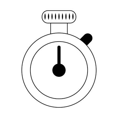 chronometer icon cartoon isolated vector illustration graphic design