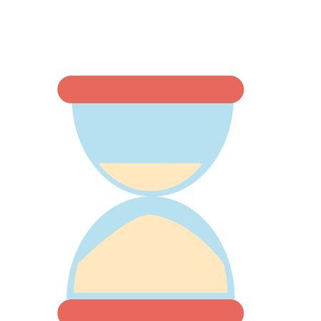 Hourglass sandtime symbol isolated vector illustration graphic design Иллюстрация