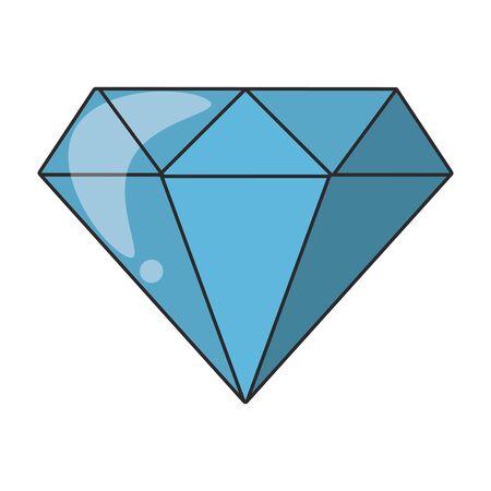 Luxury diamond symbol isolated vector illustration 일러스트