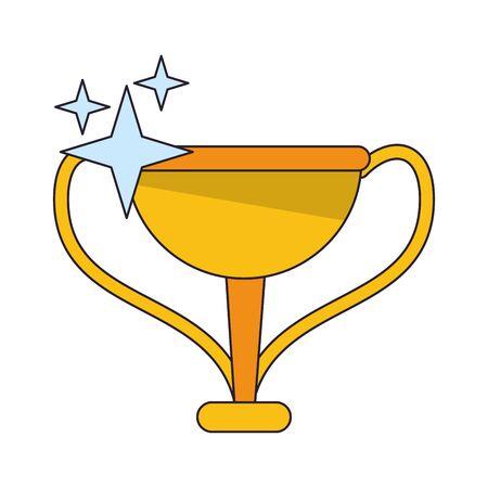 Trophy cartoons vector illustration graphic design Foto de archivo - 129241039