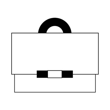 Business briefcase symbol isolated cartoon vector illustration graphic design  イラスト・ベクター素材