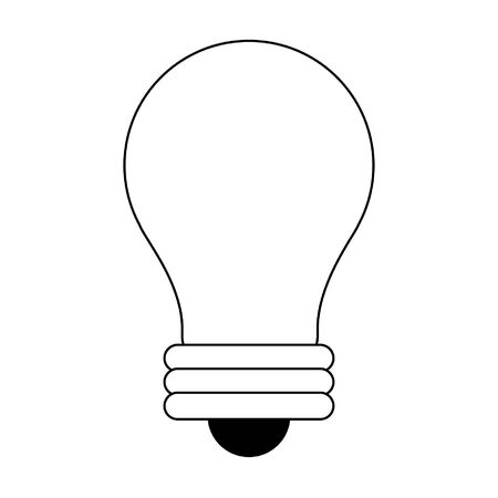 Bulb light symbol isolated vector illustration graphic design Illustration