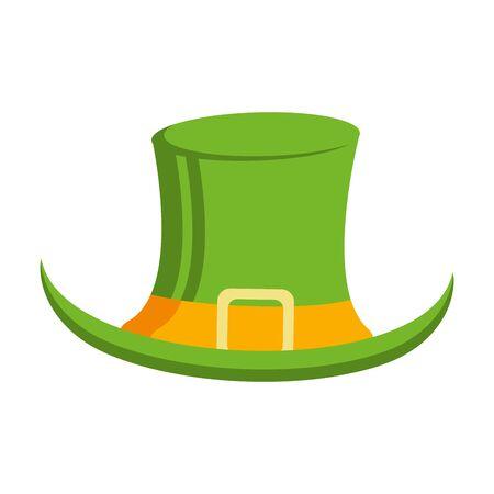 saint patricks day irish tradition leprechaun hat isolated cartoon vector illustration graphic design Иллюстрация