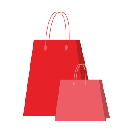 shopping retail sale store, shopping bags cartoon vector illustration graphic design 일러스트