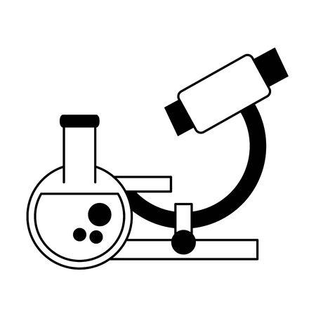 chemistry elements cartoon vector illustration graphic design Illustration