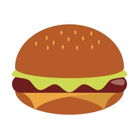 restaurant food and cuisine hamburger icon cartoons vector illustration graphic design