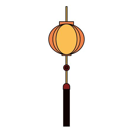 chinese oriental asian lantern cartoon vector illustration graphic design