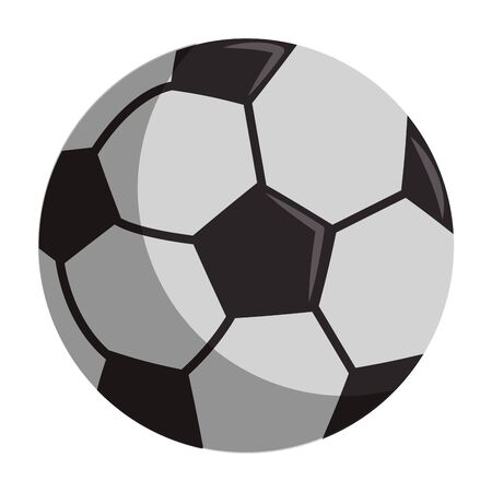Soccer sport ball cartoon isolated symbol vector illustration graphic design Archivio Fotografico - 129427941