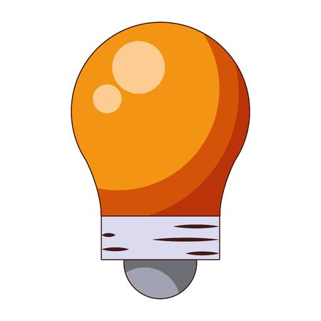 Bulb light energy or big idea symbol vector illustration graphic design 写真素材 - 129472442