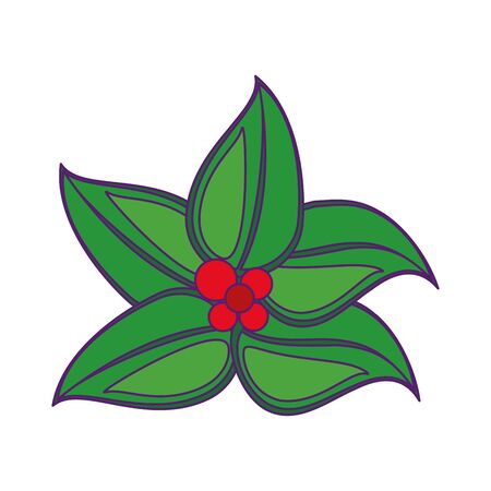plant leaves icon cartoon isolated vector illustration graphic design