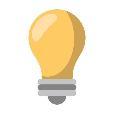 Bulb light symbol isolated vector illustration graphic design Illusztráció