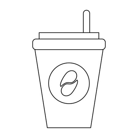 Coffee cup to go symbol vector illustration graphic design