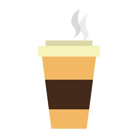coffee cup illustration graphic isolated Vector design illustration