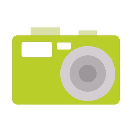 Photographic camera symbol isolated vector illustration graphic design