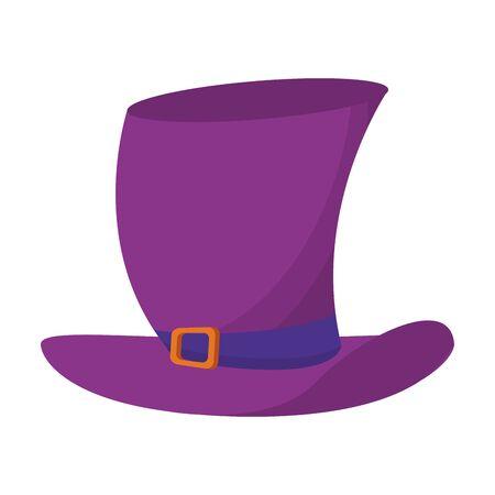 hat clothing fashion headwear isolated cartoon vector illustration graphic design Stock Illustratie