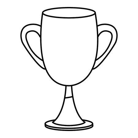 Trophy cup symbol isometric isolated ,vector illustration graphic design. Archivio Fotografico - 129682442