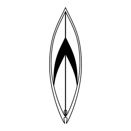 Surf board cartoon isolated symbol vector illustration graphic design
