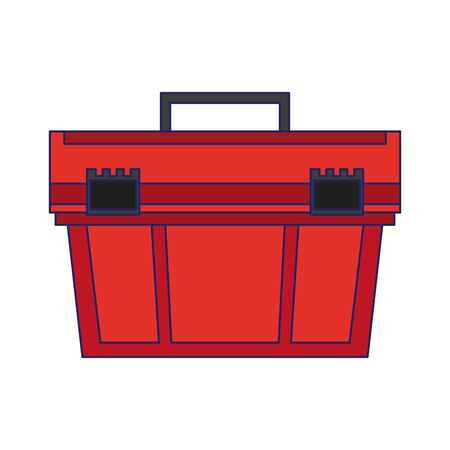 toolbox contruction tool isolated symbol vector illustration graphic design 向量圖像