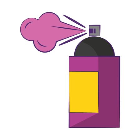 Graphic design spray bottle software tool symbol isolated illustration editable image
