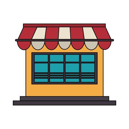 delivery ecommerce online store sales cartoon vector illustration graphic design Illustration