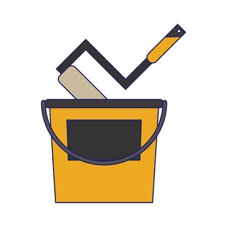 contruction tool isolated symbol vector illustration graphic design