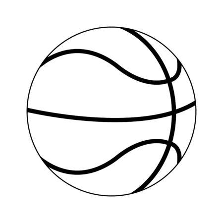 Basketball ball sport cartoon Design Stock fotó - 130137122